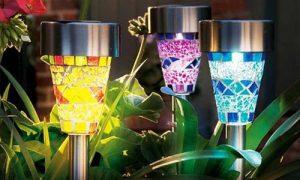Как выбрать фонари на солнечных батареях для сада дачи