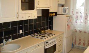 Интерьер узкой кухни: фото идеи