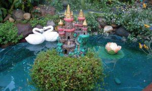 Делаем декоративный водоем в саду на даче