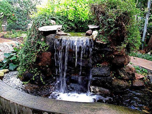 Искусственные водопады