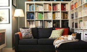 Дизайн гостиной с мебелью Икеа