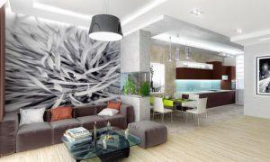 Интерьер гостиной в частном доме: фото варианты