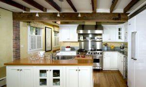 Деревянные декоративные балки на потолке: фото идеи