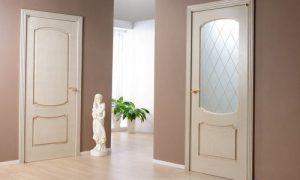 Межкомнатные двери в интерьере: фото варианты цвета