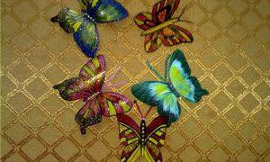 Декор стен бабочками: мастер-класс своими руками