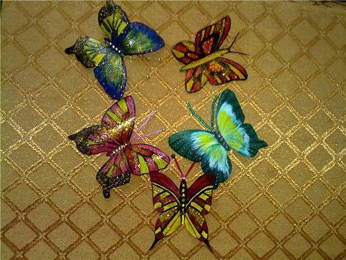 Делаем своими руками бабочек