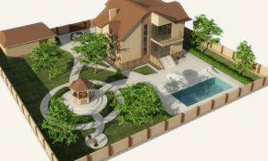 Как спланировать дизайн садового участка на 6 сотках