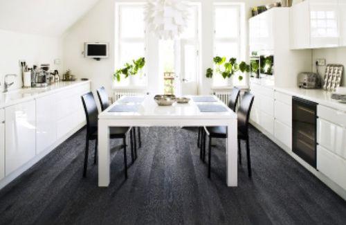 как правильно подобрать цвет кухни если потолок темный шоколад а пол-венге