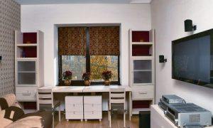 Узкая гостиная: фото идеи дизайна интерьера