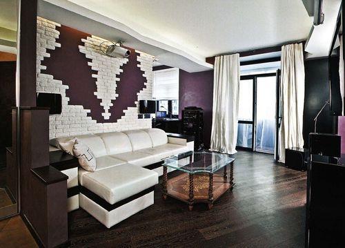 Дизайн спальни-зала