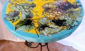 Идеи декора старого кухонного стола