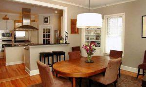 Продумываем интерьер кухни-столовой в доме