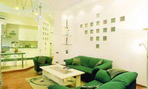 Интерьер в зеленых тонах: стильно и необычно