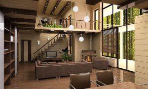 Продумываем интерьер загородного дома