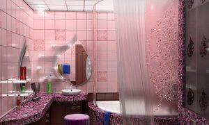 Плитка в интерьере ванной комнаты: фото вариантов