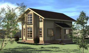 Проекты домов с эркером: фото идеи одноэтажных и двухэтажных домиков