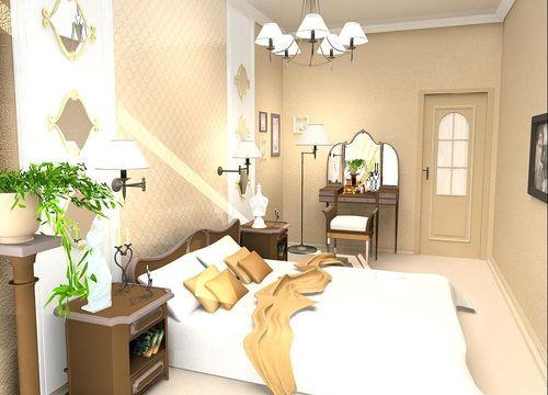 Дизайн квартиры со светлым полом и дверями