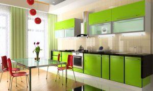 Как оформить дизайн интерьера большой кухни
