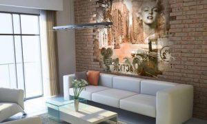 Используем фрески в интерьере квартиры: фото варианты