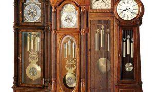 Используем напольные часы в интерьере