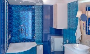 Размещаем угловые ванны в маленьких ванных