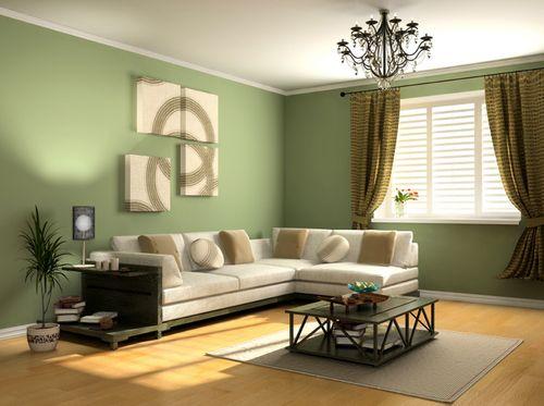 Дизайн фисташковый цвет