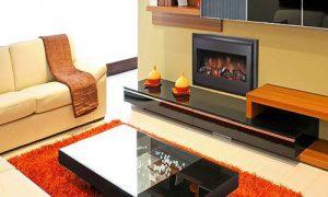 Как выглядят электрокамины в интерьере квартиры?