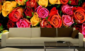 Выбираем фотообои Розы для интерьера