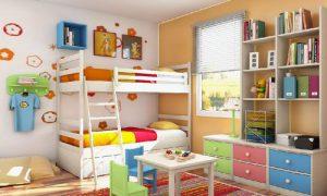 Как обустроить интерьер комнаты для детей