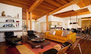 Как выглядит интерьер финского деревянного дома