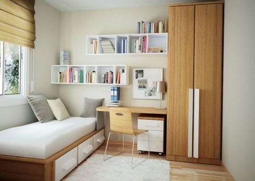 Комната для родителей и двух детей