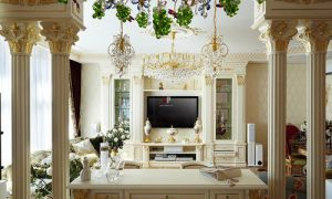 Как сделать колонны в интерьере квартиры