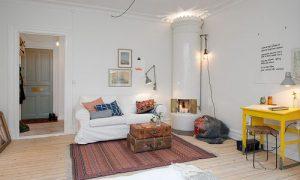 Как организовать шведский интерьер маленькой квартиры