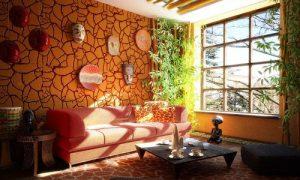 Как создать африканский интерьер дома