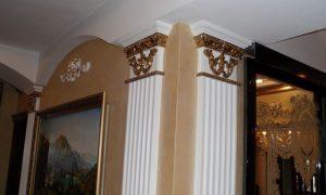 Используем пилястры в интерьере квартиры