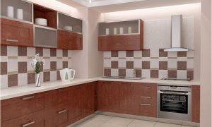 Как выбрать красивый дизайн плитки на кухне