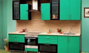 Каким сделать дизайн интерьера зеленой кухни