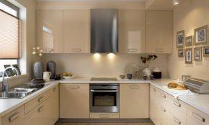 Как выглядят кухни бежевого цвета: фото идеи