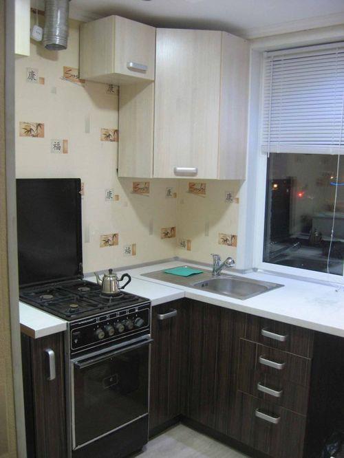 Ремонт кухни 6 кв метров своими руками