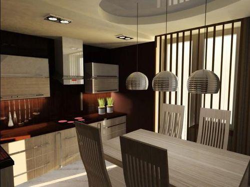 Кухня 16 кв метров дизайн