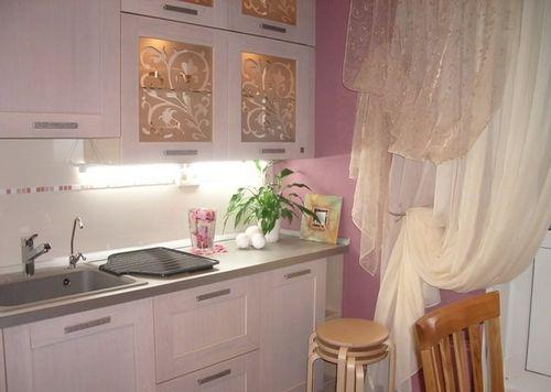 Как сделать маленькую кухню красиво своими руками