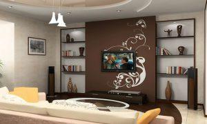 Продумываем дизайн стен в квартире: покраска, обои, камень