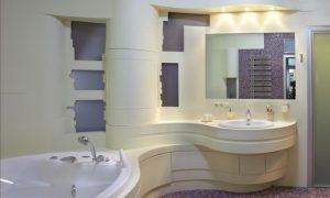 Продумываем модный дизайн ванной комнаты