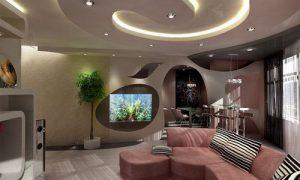 Как обустроить современный дизайн гостиной в квартире