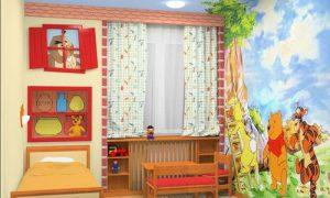 Продумываем дизайн детской спальни в квартире