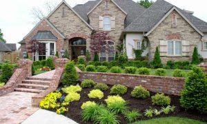 Создаем ландшафтный дизайн маленького участка перед домом