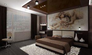 Идеи дизайна интерьера спальни 12 кв. м.
