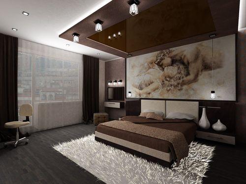 Ремонт спальни 12 кв.м своими руками фото