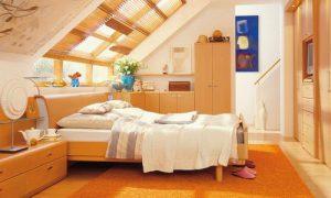 Как обустроить спальню на мансарде: идеи дизайна