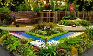 Украшаем ландшафтный дизайн двора частного дома
